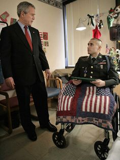 He has given so much, I pray Lord, that he will be able to live a full life and will be able to be happy. Thank you for his sacrifice as well as the sacrifices so many have made.