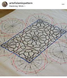 Islamic Patterns, Tile Patterns, Print Patterns, Arabic Pattern, Geometric Art, Geometric Patterns, Patterns In Nature, Islamic Art, Art And Architecture