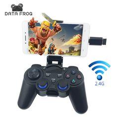 조이스틱 안드로이드 스마트 폰 2.4 그램 무선 게임 패드 PS3 게임 컨트롤러 xiaomi tv 상자 vr 상자 조이스틱 pc 맥
