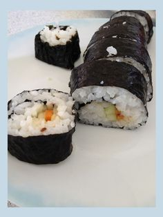 Make your own sushi - so easy and so yummy!