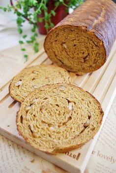 「バターなし!モカとくるみのラウンドパン」ayaka | お菓子・パンのレシピや作り方【corecle*コレクル】