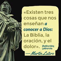Martín Lutero frases.