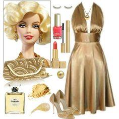Marilyn Monroe Barbie Doll - Polyvore