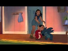 Lilo and Stich- This is the funniest lilo and stitch moment ever.Stitch has a glitch