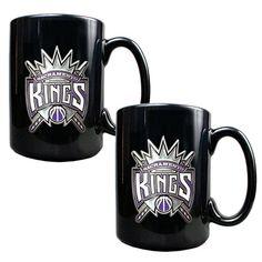 Sacramento Kings 2-pc. Mug Set, Black