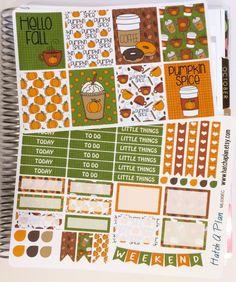 4714863c9888 Pumpkin Spice Planner Stickers