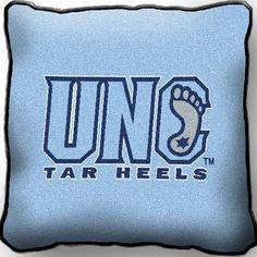 North Carolina Tar Heels Pillow