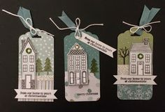 Holiday Houses  All is Calm DSP  http://kardsbykadie.blogspot.com/