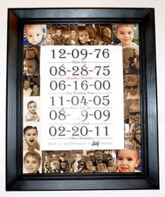 Capture the best of your family's moments and create a photo display filled with memories.
