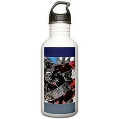 "godisgoodstuff - ""Soldier Pride"" Military BPA Free Stainless Steel Water Bottle, $22.49 (http://www.godisgoodstuff.com/soldier-pride-military-bpa-free-stainless-steel-water-bottle/)"