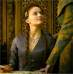 GAME OF CLOTHES: Sansa's dress at the Purple Wedding