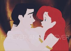 Eric and Ariel, land and water true loves