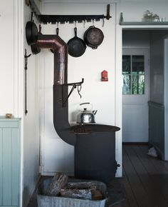 woodstove | via Kinfolk