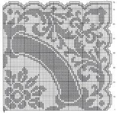 Thread Crochet, Crochet Doilies, Filet Crochet Charts, Fillet Crochet, Rubrics, Crochet Patterns, Projects To Try, Blog, Crocheting