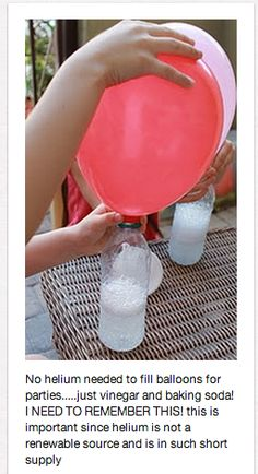 Fun Way to Fill a Balloon Ch 3: Chemical Reactions Real Science-4-Kids: Chemistry