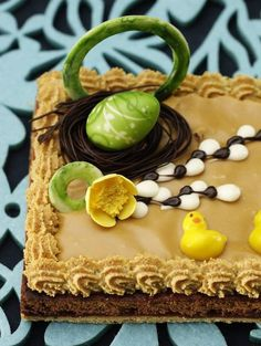mazurek - traditional Easter cake