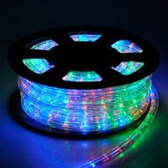 Christmas Xmas New Year Lighting LED Rope Light 50ft MultiColor w Connector * Check this awesome product by going to the link at the image.