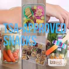 Smart Packing Tricks That Will Make Your Trip So Much Easier TSA-Approved Travel Snacks