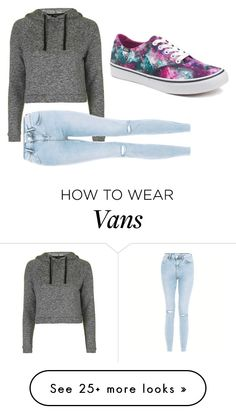 """Im a princess like my own, with out jewerly and ristband, with Vans and sweater"" by nuria-f on Polyvore featuring Topshop and Vans"