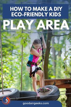 Easy steps to make an Eco Friendly play area for your kids. Read the full article here. Kids Play Spaces, Kids Play Area, Playhouse Outdoor, Outdoor Play, Childrens Rugs, Building For Kids, How To Make Diy, Sustainable Living, Kids Playing