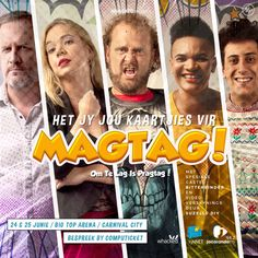 #Magtag on at Carnival City Big Top Arena on 24 + 25 June - book at Computicket