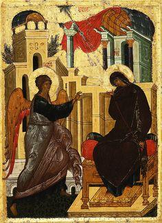 Icono de la Anunciación del Señor: profundizar el misterio