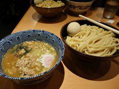 tsukemen at rokurinsha, tokyo