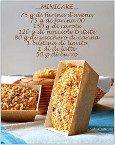 Buon inizio settimana a tutti!!! Mi piace iniziare la settimana offrendovi un delizioso dolce, per dare un sferzata di energia e buonumor... Italian Desserts, Italian Recipes, Biscotti, Banana Nutella Muffins, Torte Cake, Plum Cake, Rustic Cake, Light Recipes, Mini Cakes