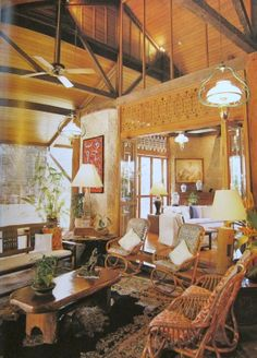 Philippine Home InteriorLove The High Ceilings