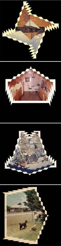 MADRE MÍA Randy Grskovic Polaroids, collage y formas geométricas