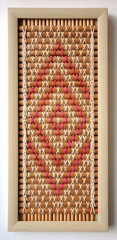 Kohai Grace Kura Gallery Maori Art Design New Zealand Weaving Tukutuku Panel Patikitiki kiekie rimu