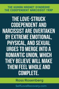 Codependency always fall in love with narcissists and sexual dysfunction