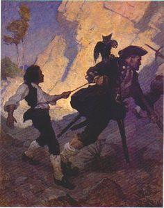 Blind Pew - N.C. Wyeth - WikiPaintings.org