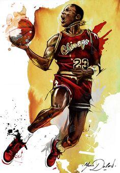 Michael Jordan\ Year One on Behance