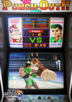 Little Mac art. SSB Wii U / 3DS