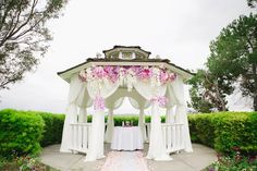 Romantic Pink Wedding Filled With Orchids | Bridal MusingsBridal Musings Wedding Blog