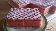 Small Desserts, Sweet Desserts, Sweet Recipes, Dessert Recipes, Sweet Cooking, Czech Recipes, Different Cakes, Salty Snacks, Sweet Cakes