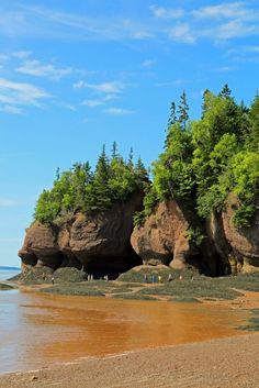 Visiting Hopewell Rocks in New Brunswick Canada What A Wonderful World, Places To Travel, Places To See, Hopewell Rocks, New Brunswick Canada, Easy Jet, East Coast Travel, Future Travel, Canada Travel
