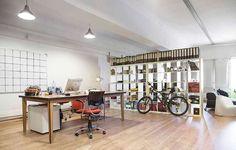 Ejemplo de oficina de 100 m2 en Edificio David, calle Aribau 240