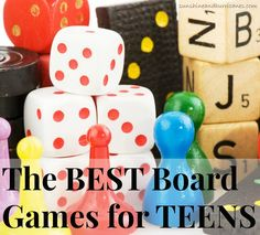 Looking for a way to connect with your older kids? Teenagers till enjoy playing games and it can be a fantastic way to connect and spark conversation in your family. These Best Board Games For Teens have excellent suggestions that'll bring back the laughter and family game night at your house! Youth groups, camps, teens, tweens, young life or anyone else will LOVE these ideas!