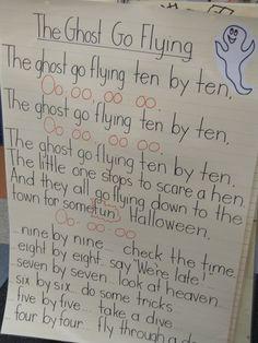 Joyful Learning In KC: Halloween Song Charts Halloween Music, Halloween Math, Halloween Activities, Halloween Songs Preschool, Halloween Songs For Toddlers, Halloween Ideas, Halloween Week, Toddler Halloween, Holiday Activities