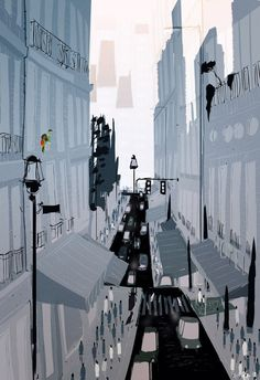 MORNING IN THE CITY by Pascal Campion