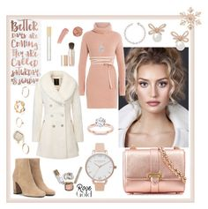 Golden Rose by majalina123 on Polyvore featuring polyvore, fashion, style, Valentino, Yves Saint Laurent, Aspinal of London, Olivia Burton, GUESS, John Lewis, Irene Neuwirth, EWA, Casetify, Eve Lom, Tom Ford, Marc Jacobs, clothing, rosegold and Goldrose