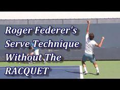 Roger Federer Serve With No Racquet Tennis Grips, Tennis Serve, Tennis Quotes, Manny Pacquiao, Eva Marie, Racquet Sports, Rafael Nadal, Maria Sharapova, Serena Williams