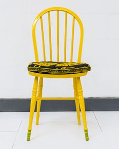 """""""Ile Mi Ni Ile Re"""" chair by Yinka IIori....."""