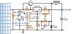 To make this simple MPPT circuit we first modify a standard power supply circuit into a buck converter then configure it with a solar panel for implementing an MPPT function. Modifying a Battery Charger Circuit, Solar Charger, Electronics Basics, Electronics Projects, Solar Panel Kits, Solar Panels, Basic Electronic Circuits, Solar Tracker, Power Supply Circuit