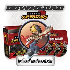 Master the Guitar Today with Guitar Super Stars!  Give us five minutes of your time and well have  you playing killer guitar. See we wanted to create  a system that would allow any normal person with  guitar playing ambition to be able to really play  anything they want.