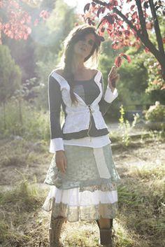 Fashion From Spain  Feature story  Ian Mosh: poetic knitwear