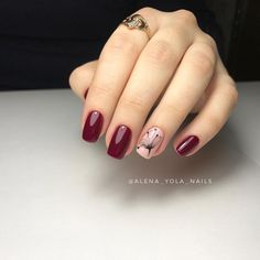 Stunning nail art trend ideas for 2019 027 Stunning nail art trend ideas for 2019 027 Latest Nail Designs, Red Nail Designs, Acrylic Nail Designs, Acrylic Nails, Burgundy Nails, Red Nails, Nail Deco, Matte Nails Glitter, Pretty Nail Art