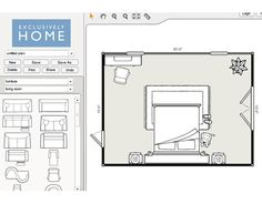Virtual Room Organizer this website lets you enter the dimensions of your rooms/furniture